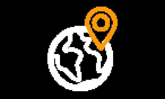 Vehículos geolocalizados por GPS